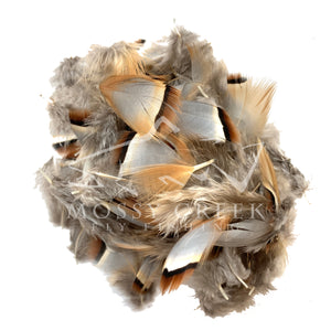 Natural Chukar Feathers