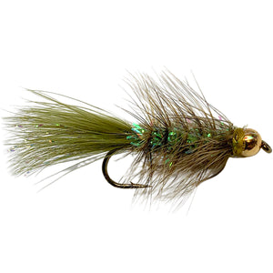 Crystal Bugger Olive - Mossy Creek Fly Fishing