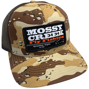 Mossy Creek Patch Trucker Desert Camo - Mossy Creek Fly Fishing