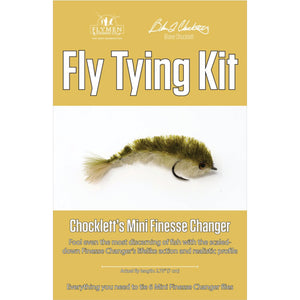 NEW Chocklett's Mini Finesse Changer Fly Tying Kit - Mossy Creek Fly Fishing