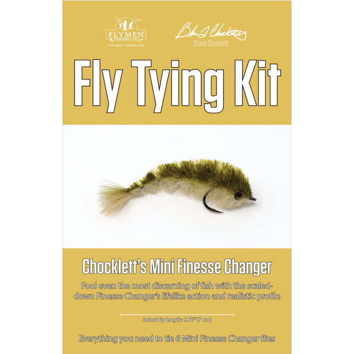 NEW Chocklett's Mini Finesse Changer Fly Tying Kit