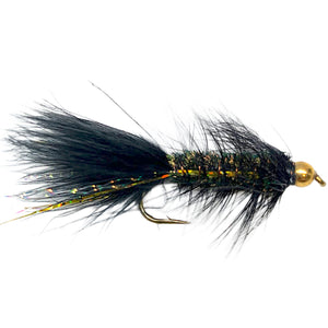 Flash-A-Bugger Black - Mossy Creek Fly Fishing