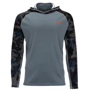 Orvis Trout Bum Quilted Snap Sweatshirt Navy