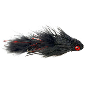 Galloup's Articulated Dungeon Black - Mossy Creek Fly Fishing