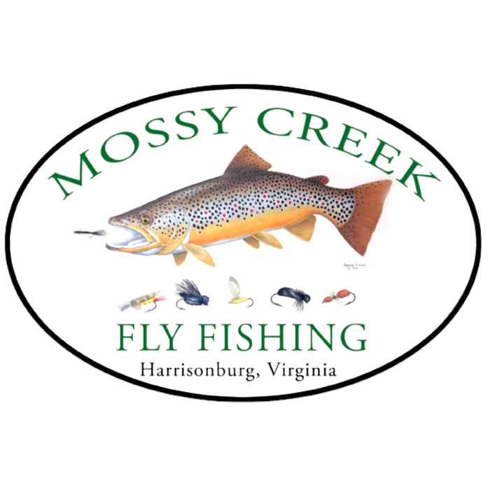 Mossy Creek Logo Oval Sticker