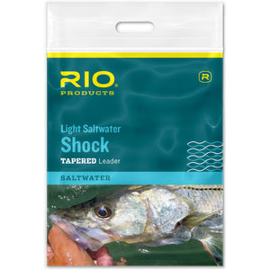 RIO Light Saltwater Shock Tapered Leader - Mossy Creek Fly Fishing