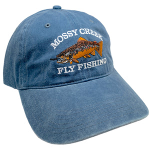 Mossy Creek Vintage 6 Panel Hat Navy - Mossy Creek Fly Fishing