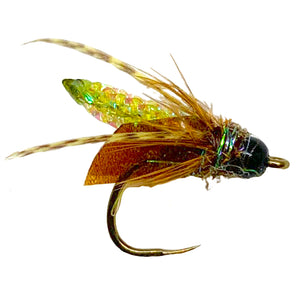 Nitro Caddis Olive - Mossy Creek Fly Fishing