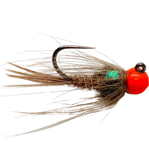 Hot Head CDC Pheasant Tail Nymph - Mossy Creek Fly Fishing