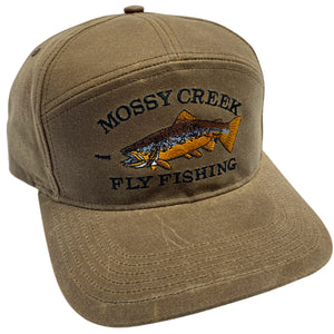 Mossy Creek Pioneer Oiled Canvas Hat - Mossy Creek Fly Fishing