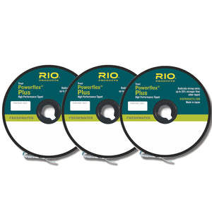 RIO Powerflex Plus Tippet 3-Pack Selection - Mossy Creek Fly Fishing