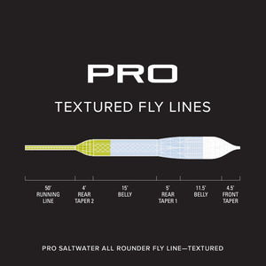 Orvis PRO Textured Saltwater All Rounder Fly Line - Mossy Creek Fly Fishing