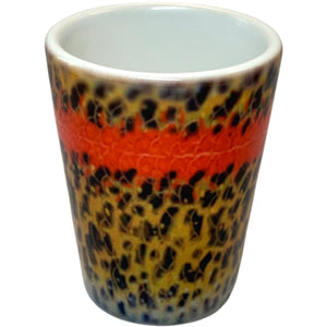 DeYoung Fish Flank Shot Glass - Mossy Creek Fly Fishing