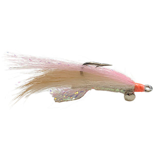 Bonefish Scampi Lead Eye Pink - Mossy Creek Fly Fishing