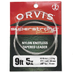 Orvis SuperStrong Plus Tapered Fly Fishing Leader 2PK - Mossy Creek Fly Fishing