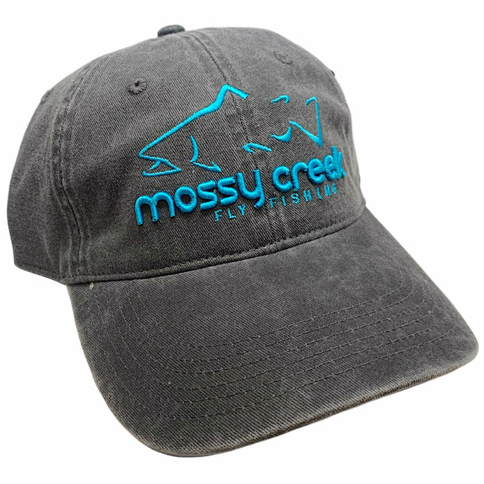 New Mossy Creek 6 Panel Hat Charcoal