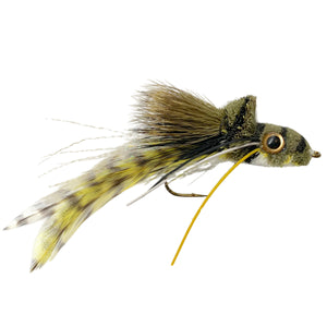 Umpqua Swim Frog White Belly - Mossy Creek Fly Fishing