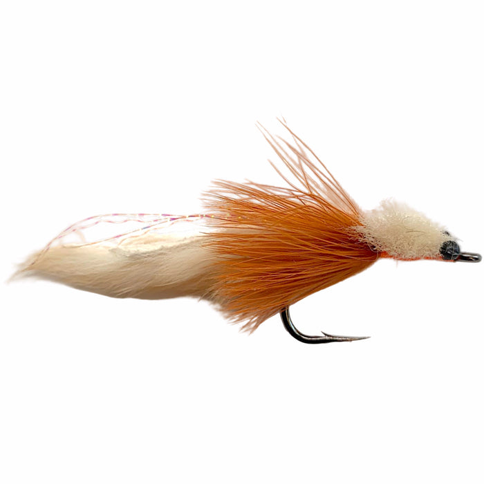 Tarpon Toad Bunny Strip Tan/Orange