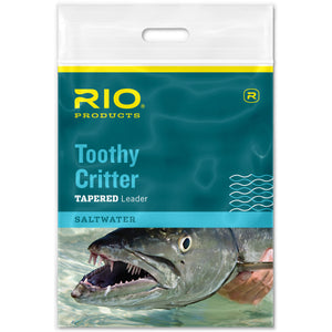 RIO Toothy Critter Tapered Leader - Mossy Creek Fly Fishing