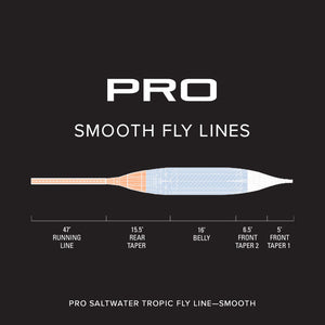 Orvis PRO Saltwater Tropic Smooth Fly Line