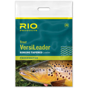 Rio Trout VersiLeader Sinking Tapered Leader - Mossy Creek Fly Fishing