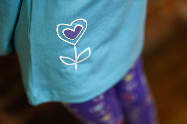 teal tunic for girls