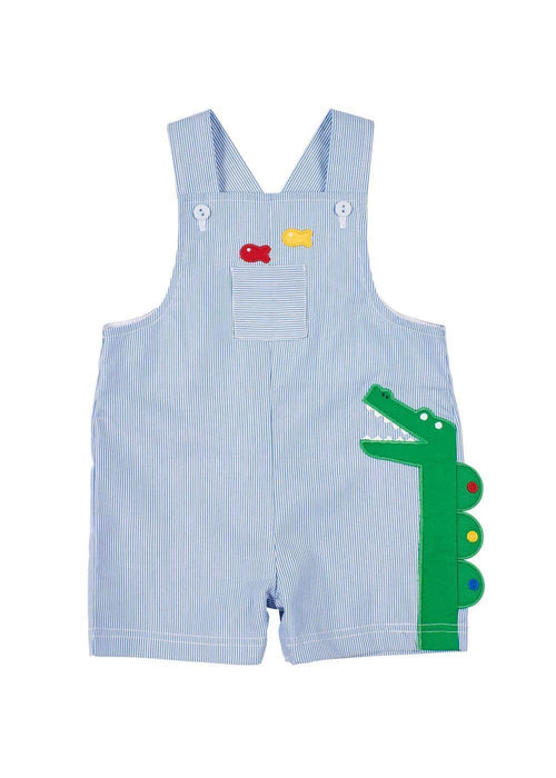 Junior Cord Shortall With Alligator - Florence Eiseman