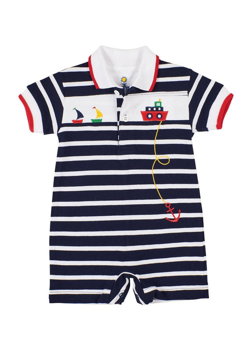 Knit Shortall With Boats