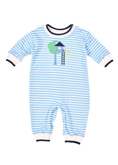 Tree House & Monkey Onesie Baby Playwear Front