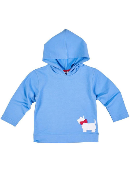 Periwinkle Scottie Dog Onesie