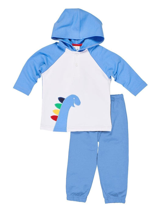 Dinosaur Hoodie Toddler and Baby Boy Joggers Set