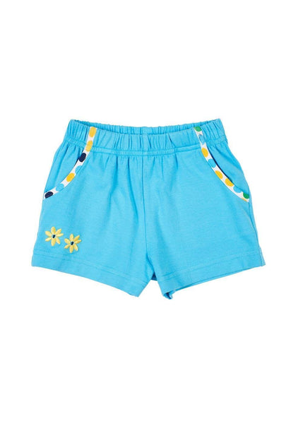 Blue Pull-On Short With Pockets - Florence Eiseman