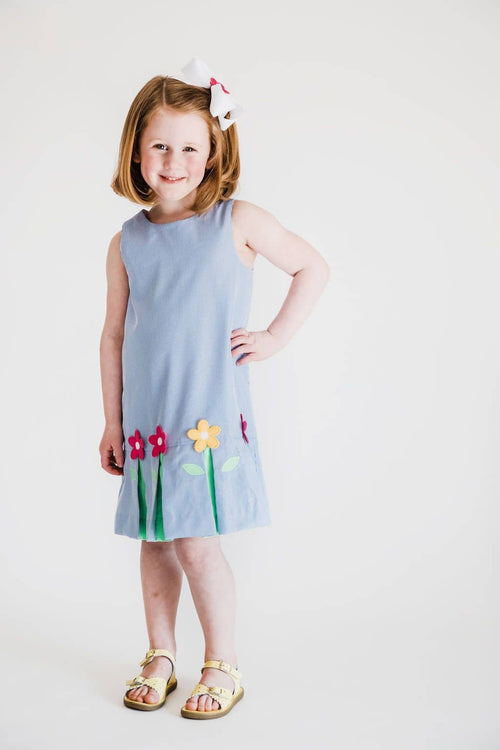 Dress with Pop-Up Flowers - Florence Eiseman