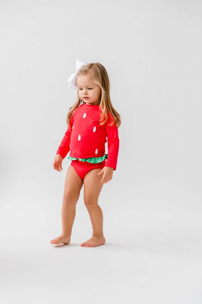 Watermelon Rashguard Swimsuit
