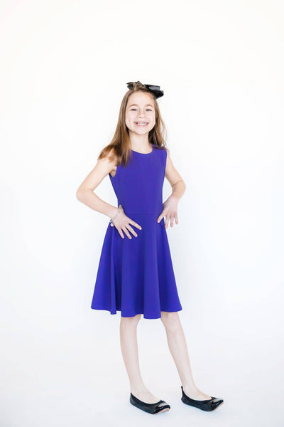 Dress with Back Bows