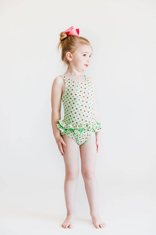 Apple Print Swimsuit - Florence Eiseman