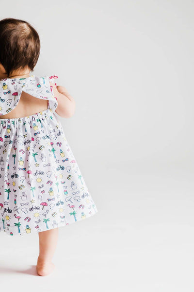 Summer Print Dress and Bloomer - Florence Eiseman