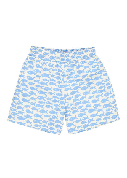 Fish Print Swim Trunk - Florence Eiseman