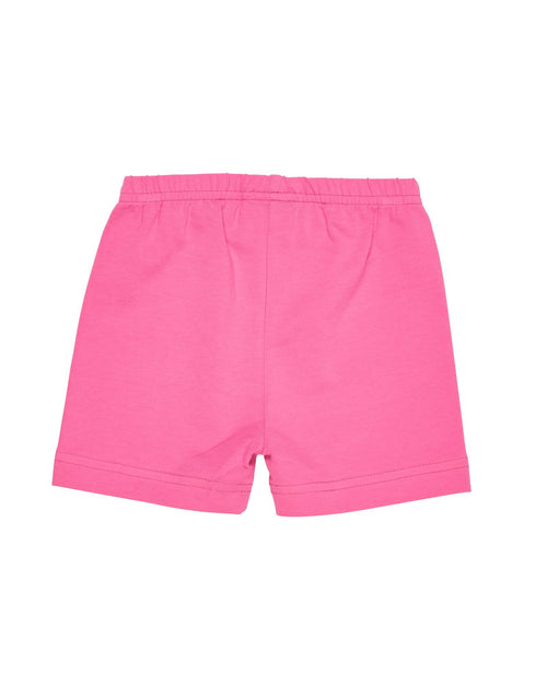 Pink Bike Shorts with Butterfly Applique - Florence Eiseman