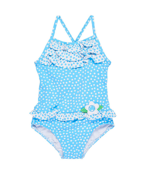 Scattered Dot Girls Swimsuit - Florence Eiseman