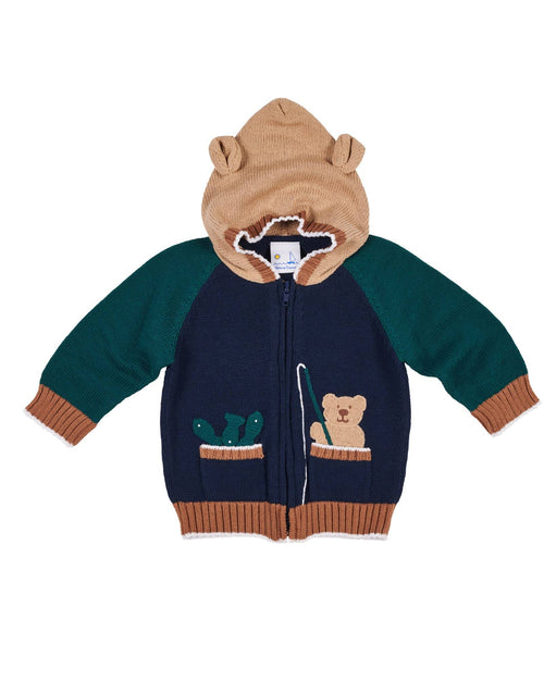 Fishing Bear Sweater