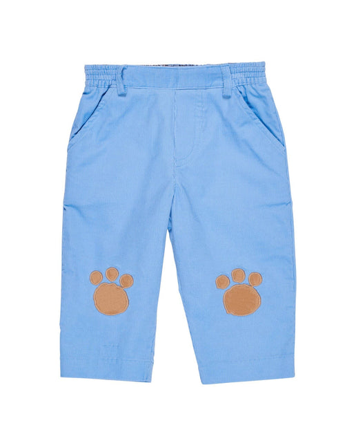 Pawprint Knee Patch Corduroy Pants
