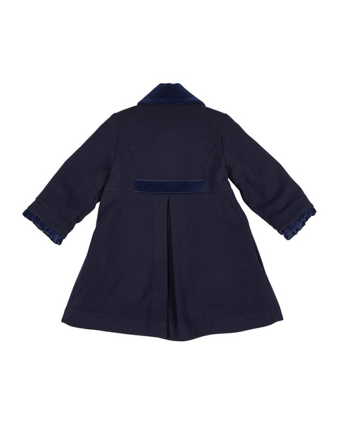 Navy Dress Coat