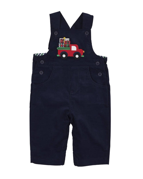 Corduroy Overall with Truck
