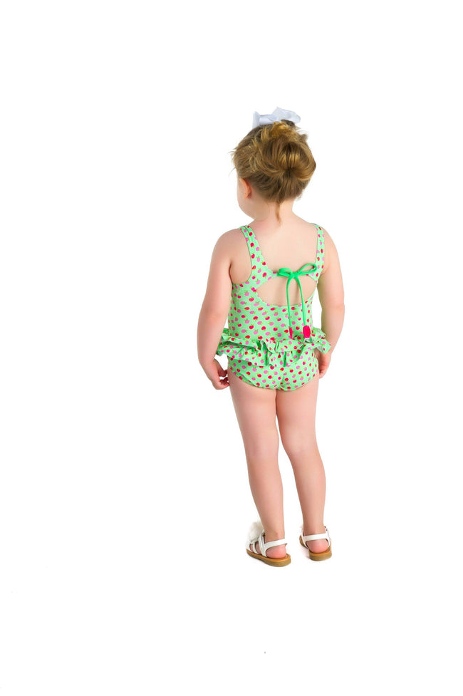 Apple Print Swimsuit