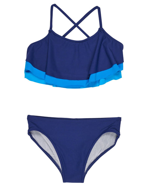 Shades of Blue Tween Swimsuit