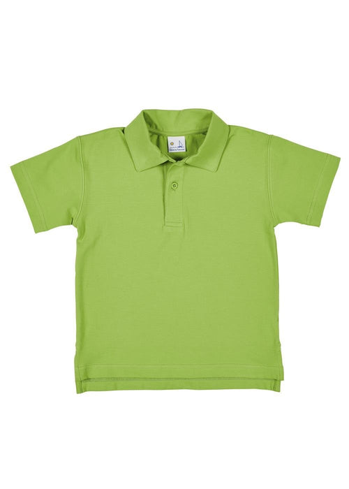 Boys Green Polo Shirt