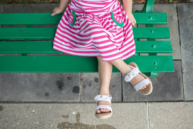 Stripe Knit Watermelon Dress