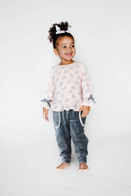 Girls Hedgehog Top and Pant