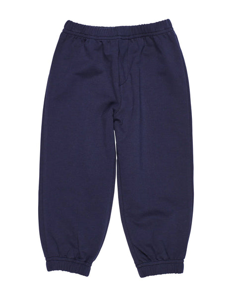 Navy French Terry Jogger